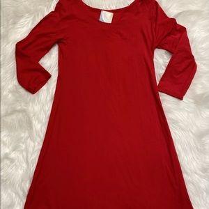 NWT Womens Sz S TravelSmith Women's Red Dress